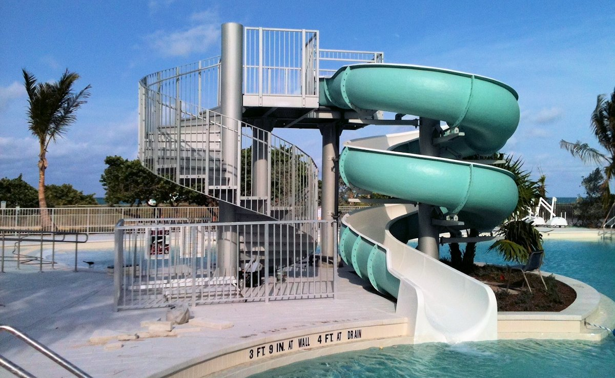 Surfside Community Pool in Miami Beach, Florida